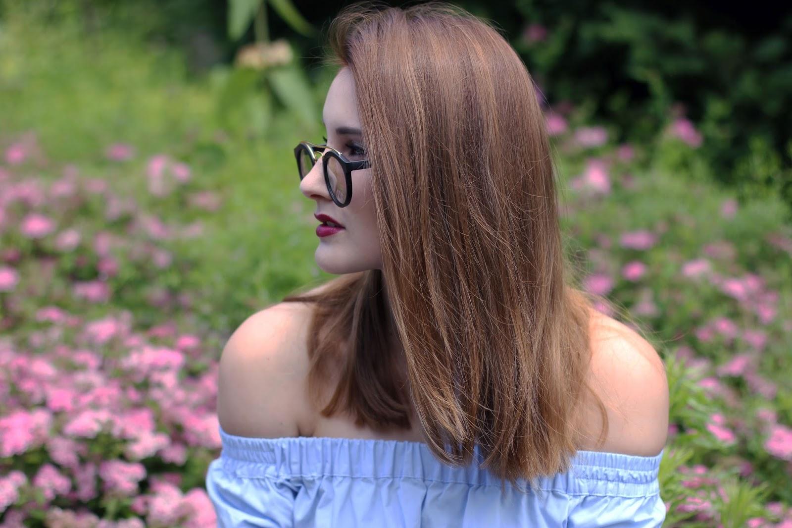 Sommer-Trend: Off-shoulder Blusen
