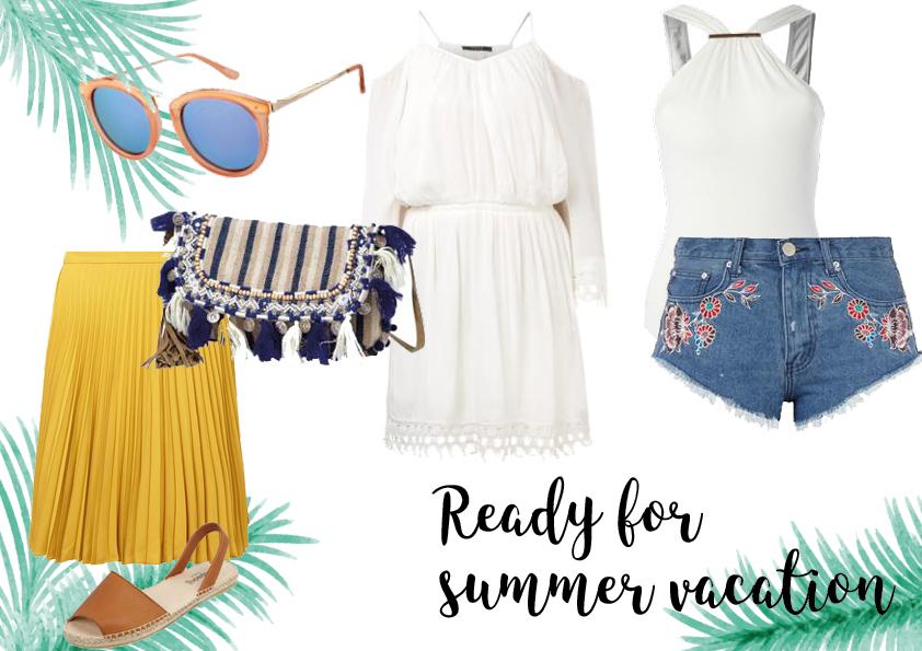 Werbung: Sommerurlaub – Ich packe meinen Koffer