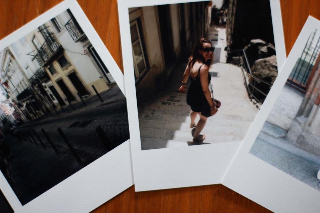 Schöne Momente auf Polaroids festhalten