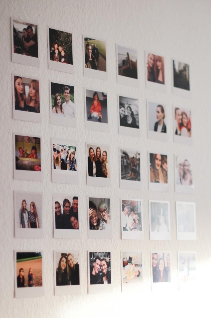 Polaroid-Wand