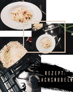 Food: Lachsnudeln