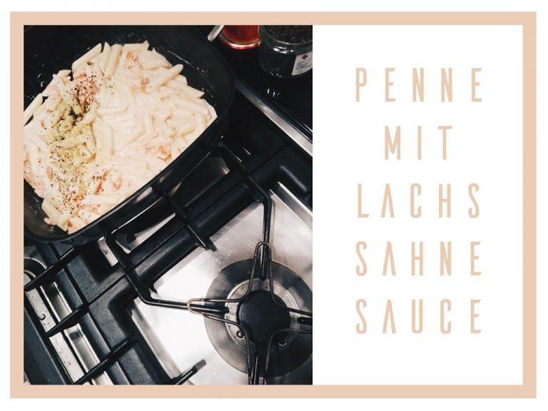 Rezept: Nudeln mit Lachs und Sahnesauce