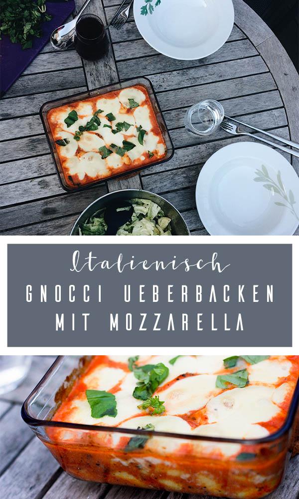 Gnocci mit Tomatensauce überbacken mit Mozzarella