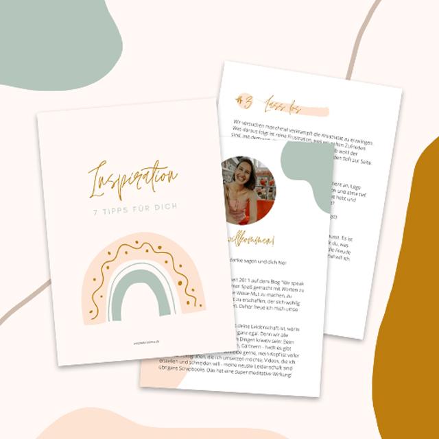 Neue Inspiration finden - 7 Tipps für mehr Inspiration für deine kreativen Projekte - Wespeakinsilence - Anika