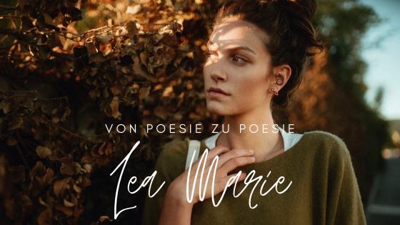 """Von Poesie zu Poesie – Interview mit Lea Marie von """"Wir auf Papier"""""""